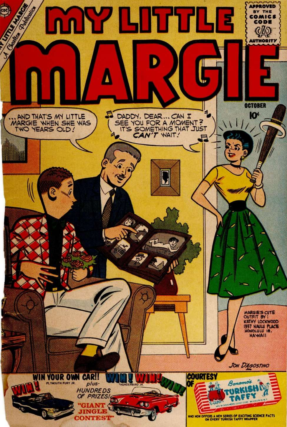 Comic Book Cover For My Little Margie #32
