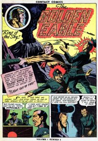 Large Thumbnail For Golden Eagle Archive (Contact Comics)