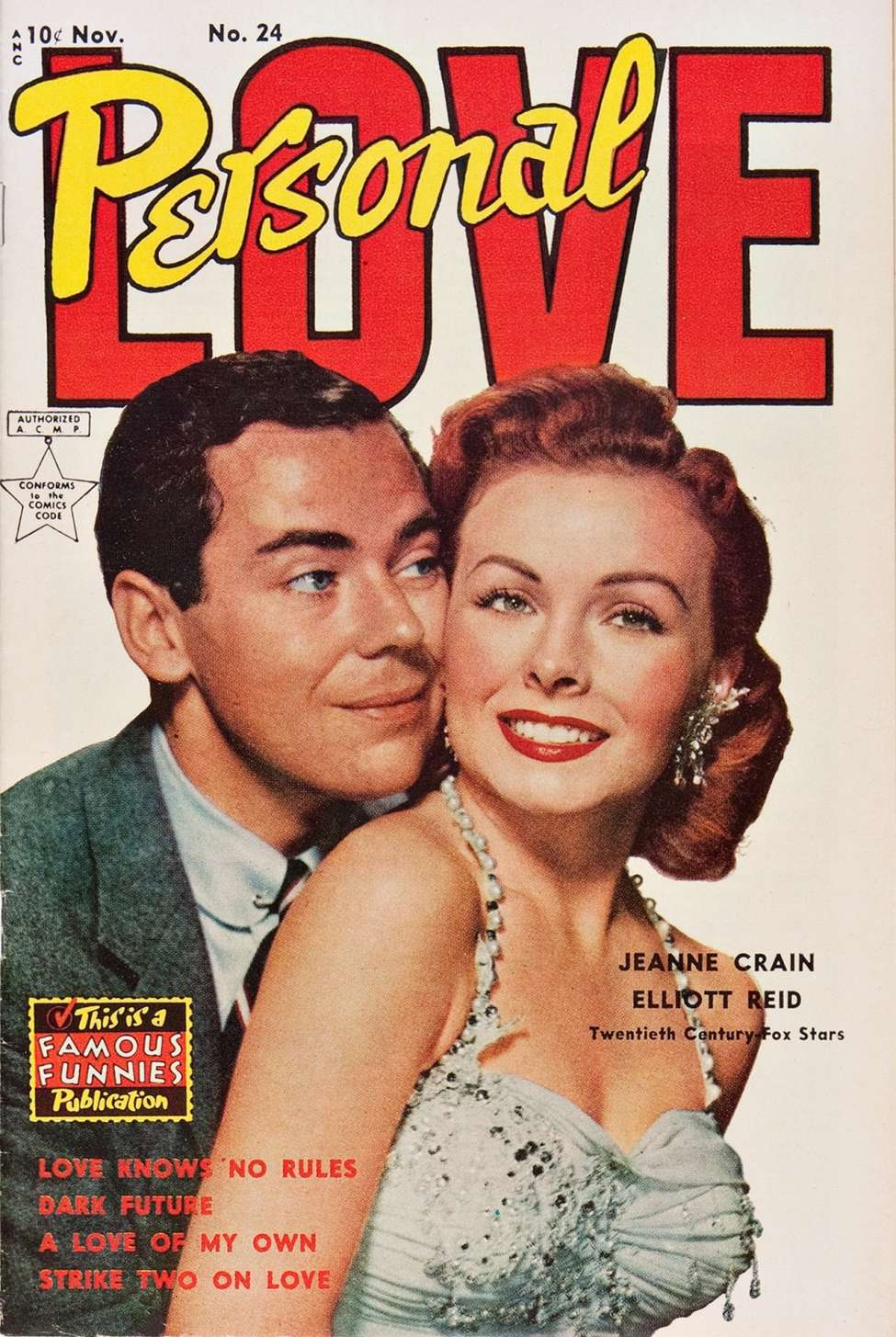 Comic Book Cover For Personal Love #24