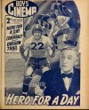 Cover For Boy's Cinema 1052 Hero for a Day Anita Louise