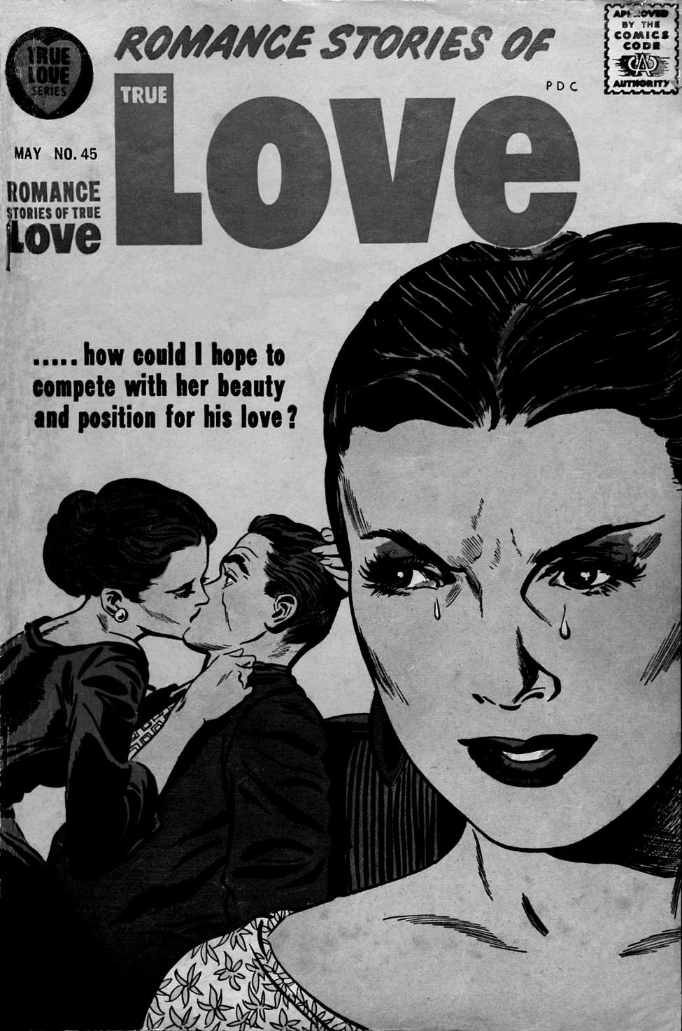 Comic Book Cover For Romance Stories of True Love 45 (Special Ed.) - Version 2