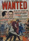 Cover For Wanted Comics 36