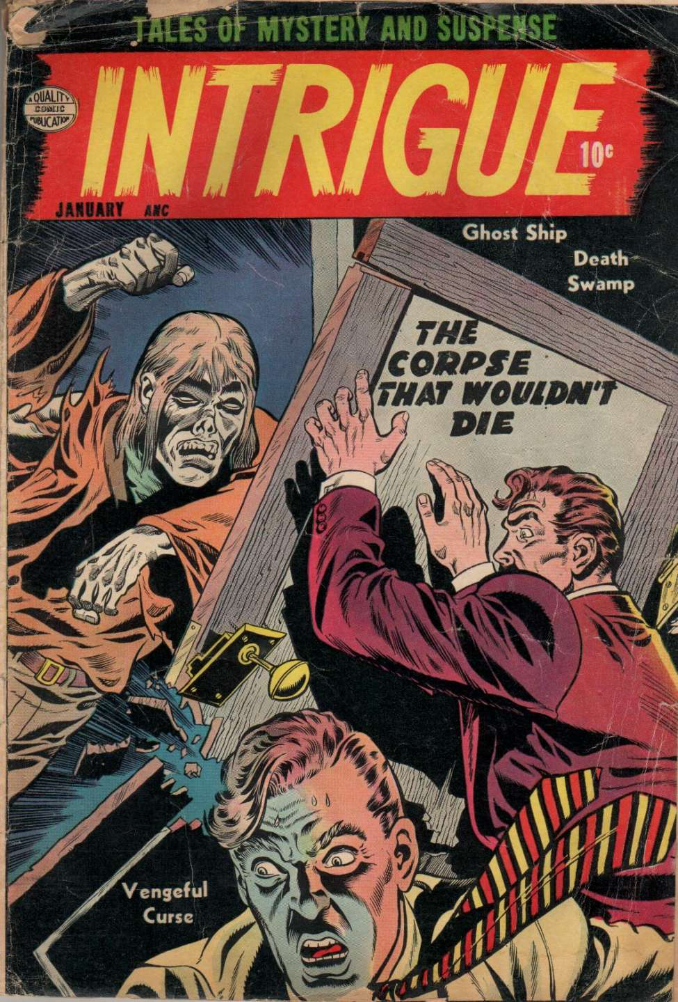 Comic Book Cover For Intrigue #1