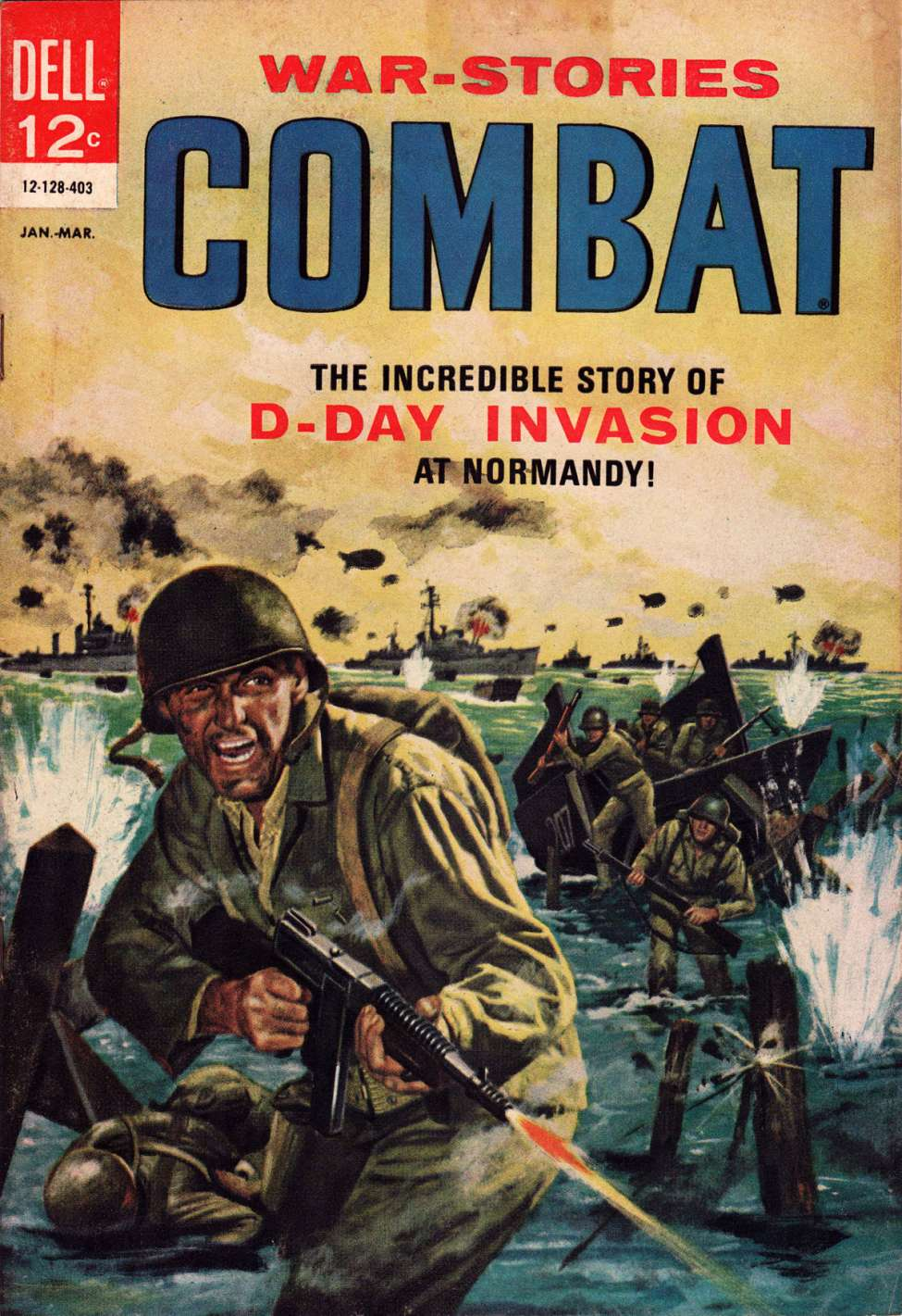 Comic Book Cover For Combat #11