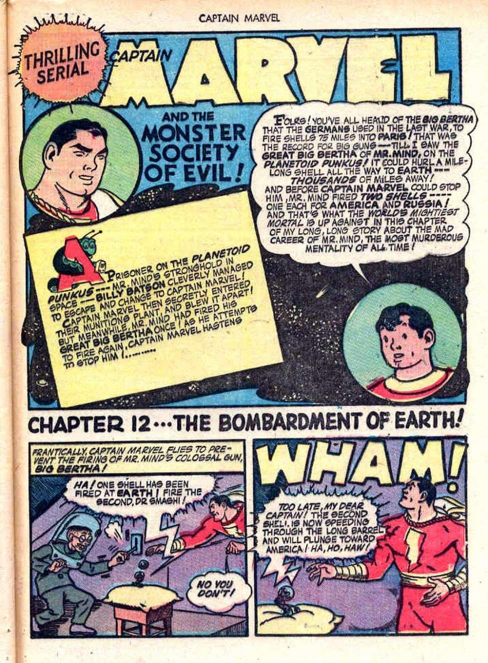 Comic Book Cover For Monster Society Of Evil Pt. 2 (Captain Marvel)