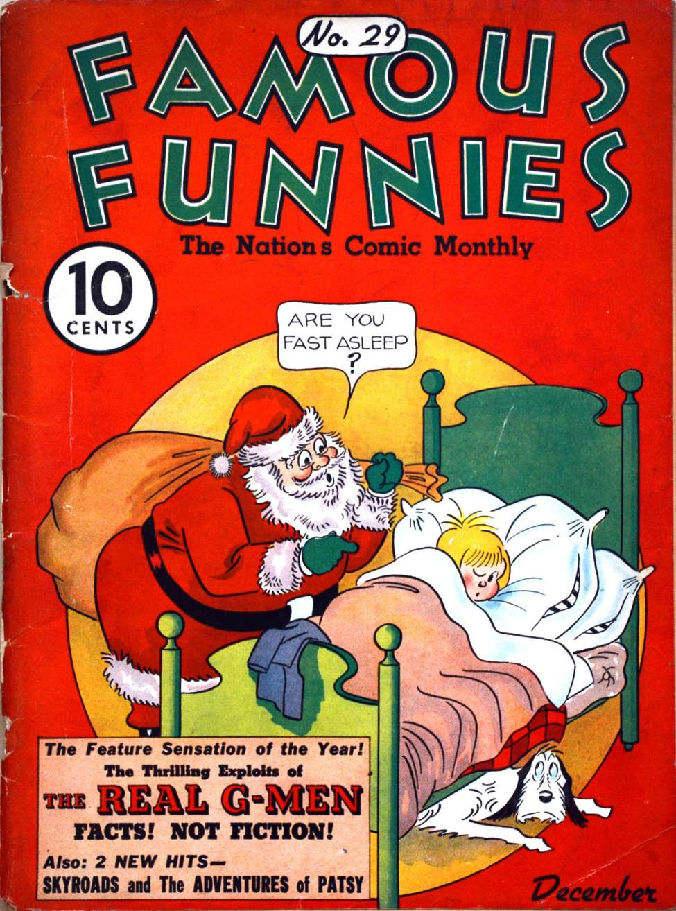 Comic Book Cover For Famous Funnies #29