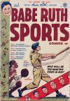 Cover For Babe Ruth Sports Comics 3