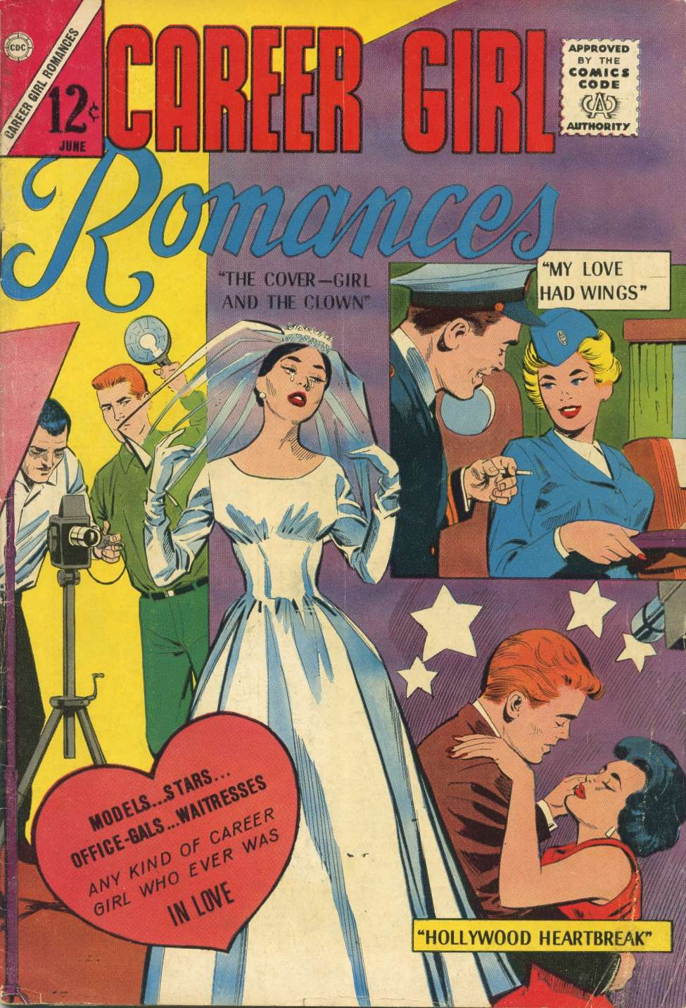 Comic Book Cover For Career Girl Romances #24