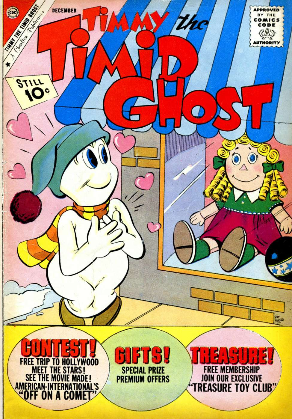 Comic Book Cover For Timmy the Timid Ghost #30