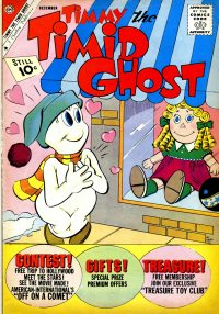 Large Thumbnail For Timmy the Timid Ghost #30
