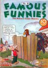 Cover For Famous Funnies 16