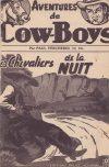 Cover For Aventures de Cow Boys 3 Les chevaliers de la nuit