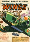 Cover For Wings Comics 33
