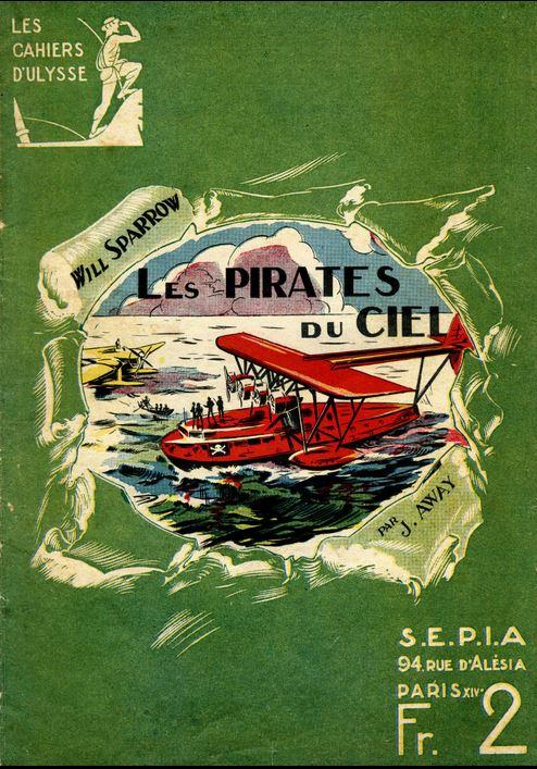 Comic Book Cover For Les Pirates du Ciel