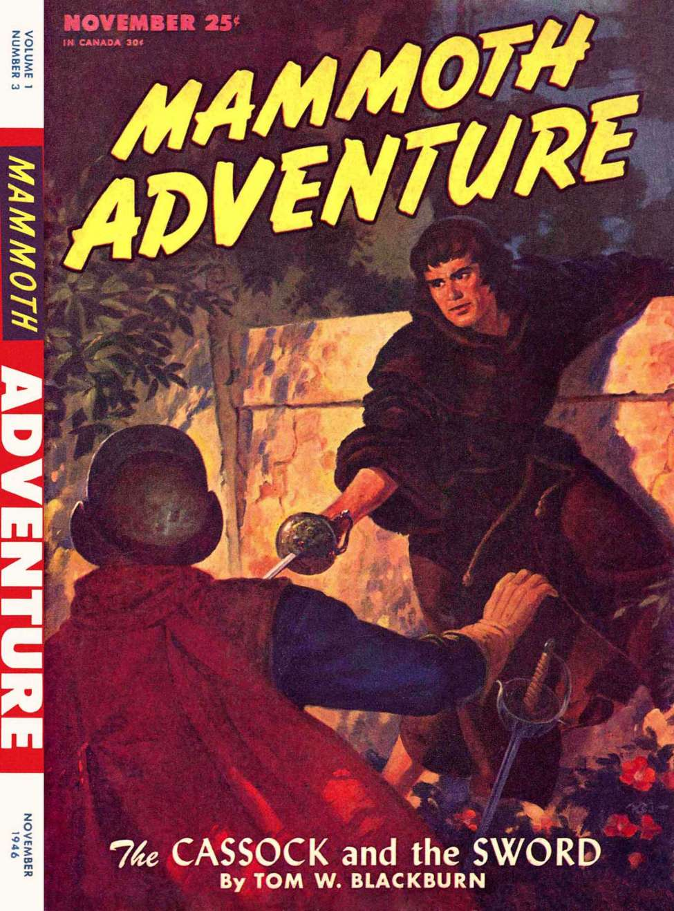 Comic Book Cover For Mammoth Adventure v01 03