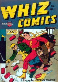 Large Thumbnail For Capt. Marvel Whiz Archives Vol 03