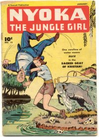 Large Thumbnail For Nyoka the Jungle Girl #15