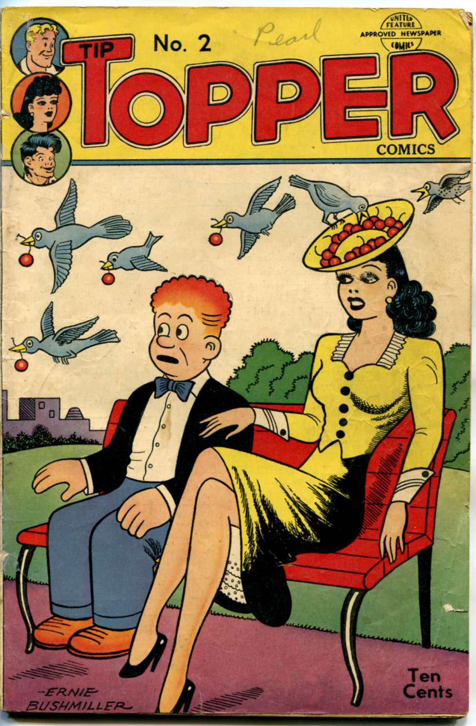 Comic Book Cover For Tip Topper Comics 02