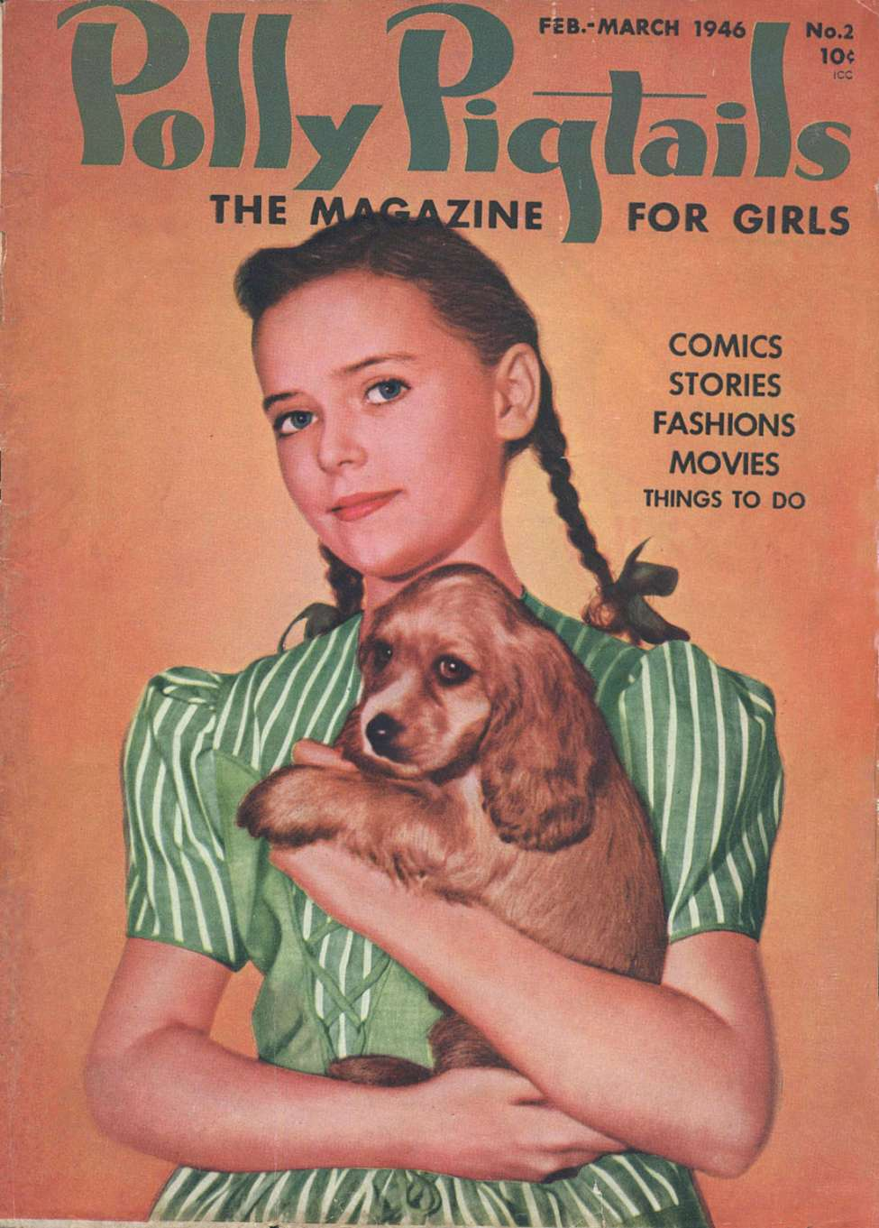 Comic Book Cover For Polly Pigtails #2 - Version 2