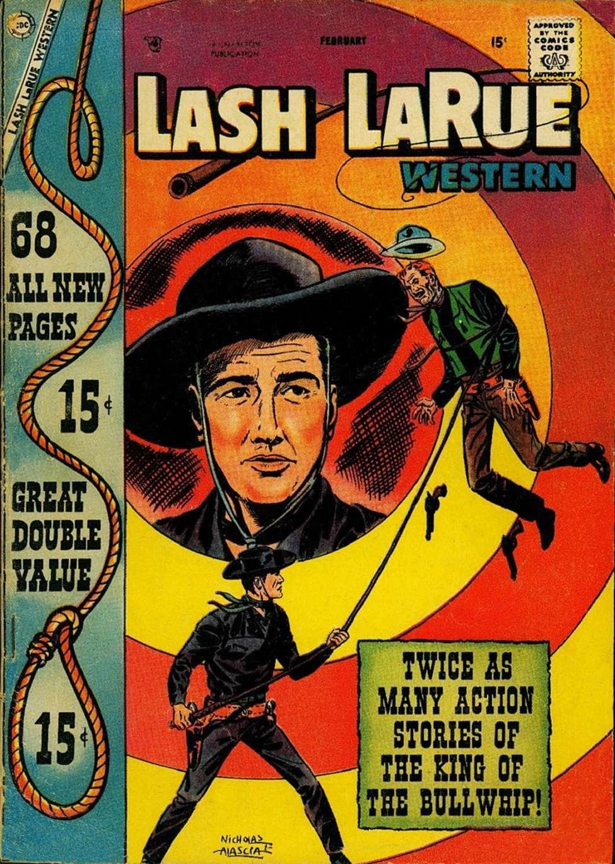 Comic Book Cover For Lash Larue Western #67