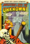 Cover For Adventures into the Unknown 42