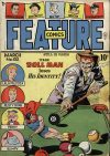 Cover For Feature Comics 132