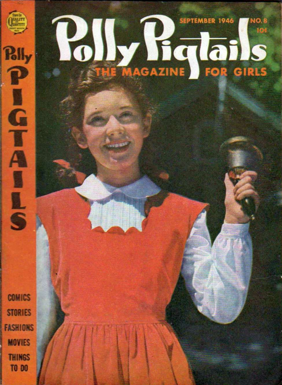 Comic Book Cover For Polly Pigtails #8