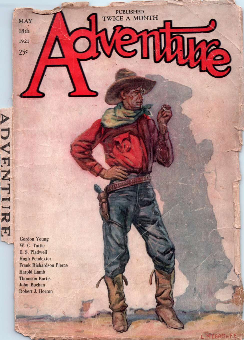 Comic Book Cover For Adventure v029 04