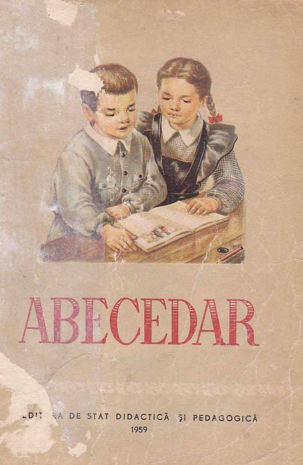 Comic Book Cover For Abecedar 1959