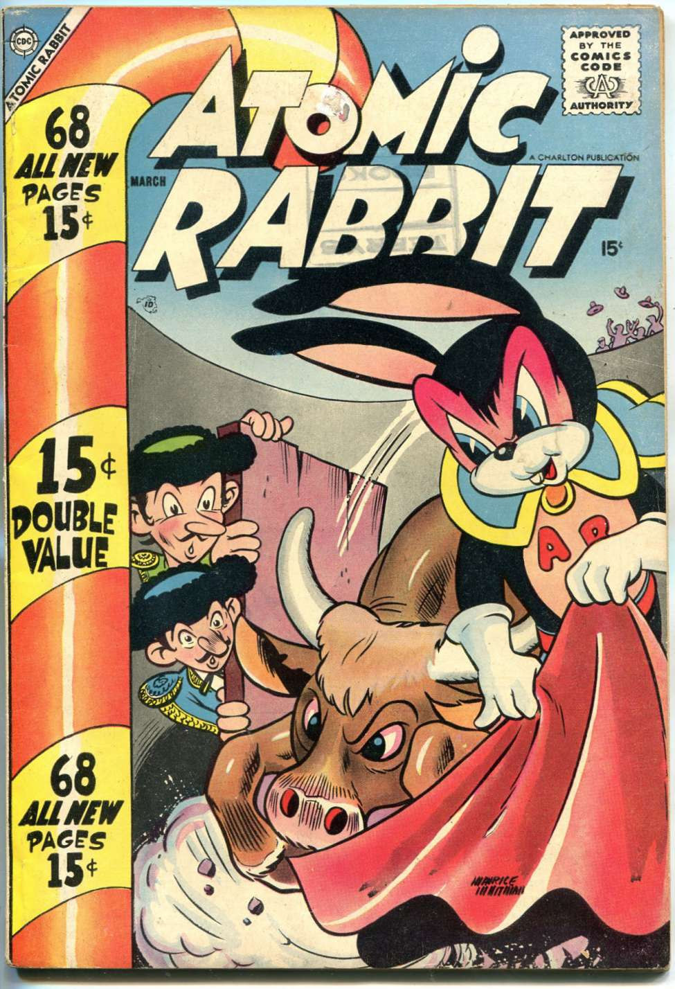 Comic Book Cover For Atomic Rabbit #11