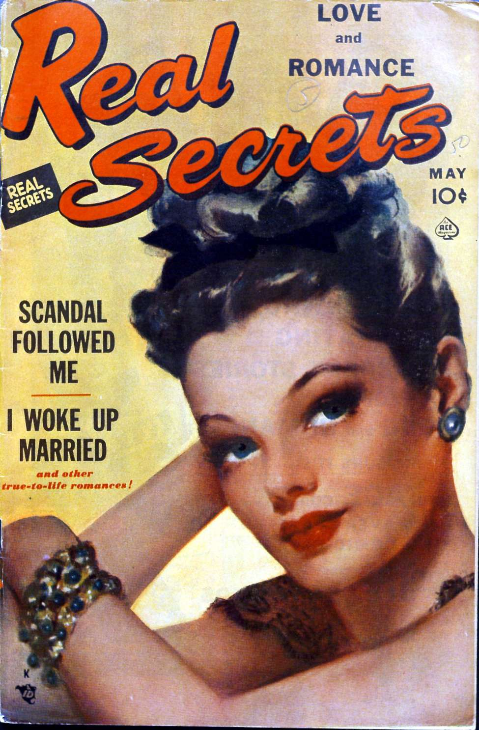 Comic Book Cover For Real Secrets 05