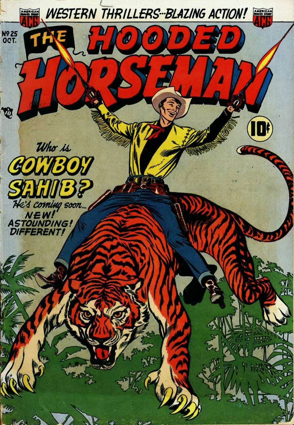 Comic Book Cover For The Hooded Horseman #25