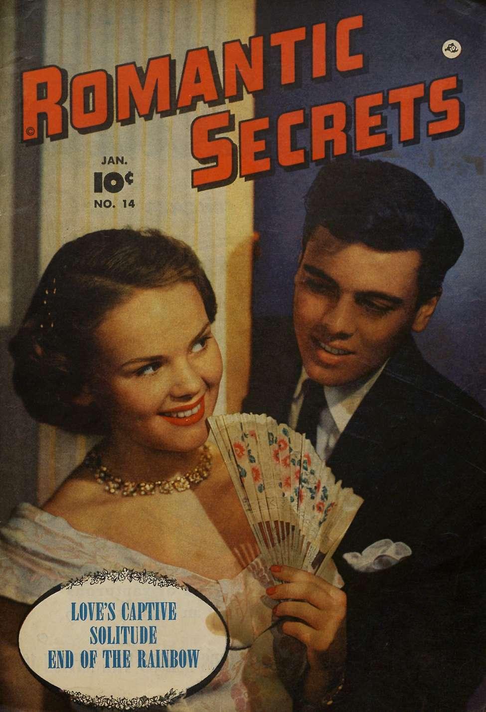 Comic Book Cover For Romantic Secrets #14