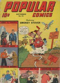 Large Thumbnail For Popular Comics #91