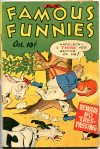 Cover For Famous Funnies 147