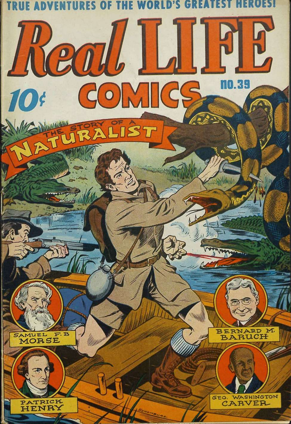 Comic Book Cover For Real Life Comics #39