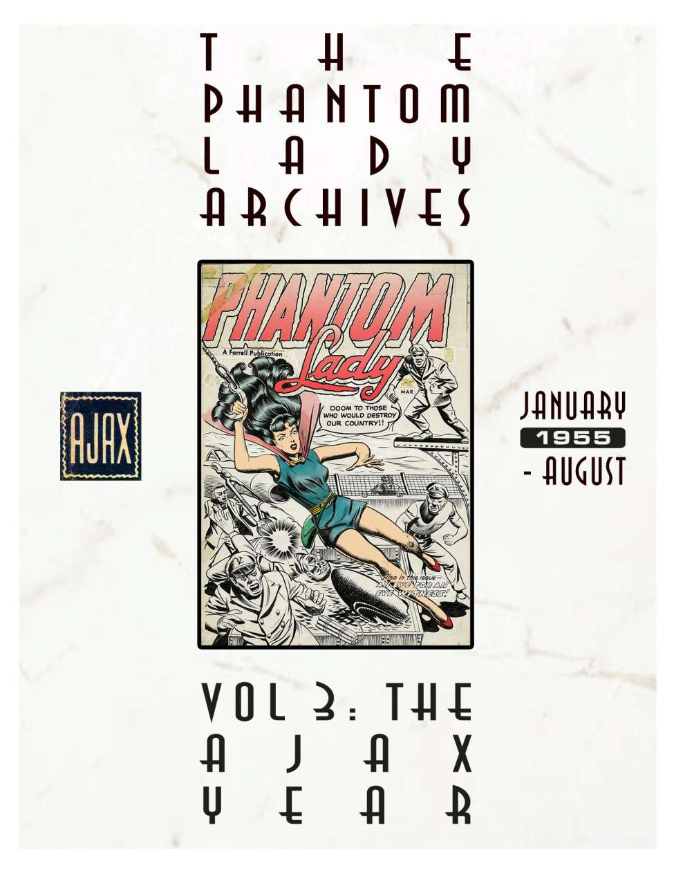 Comic Book Cover For Phantom Lady Archives v3.1 - The Ajax Year
