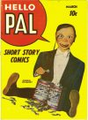 Cover For Hello Pal Comics 2