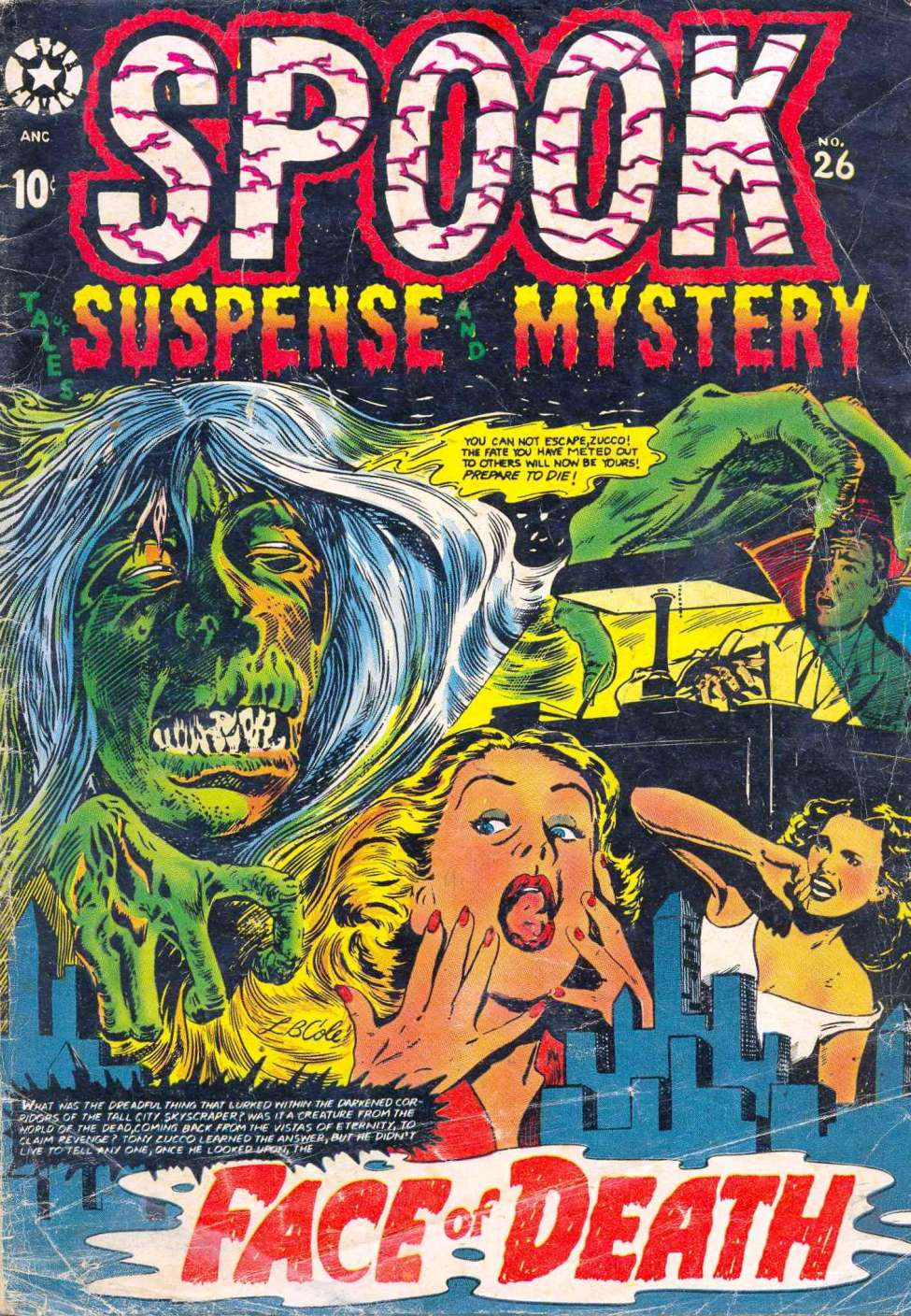 Comic Book Cover For Spook #26