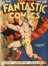 Cover For Fantastic Comics 19 (paper/20fiche)