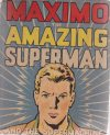 Cover For Maximo The Amazing Superman And The Supermachine