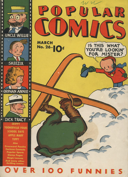 Comic Book Cover For Popular Comics #26
