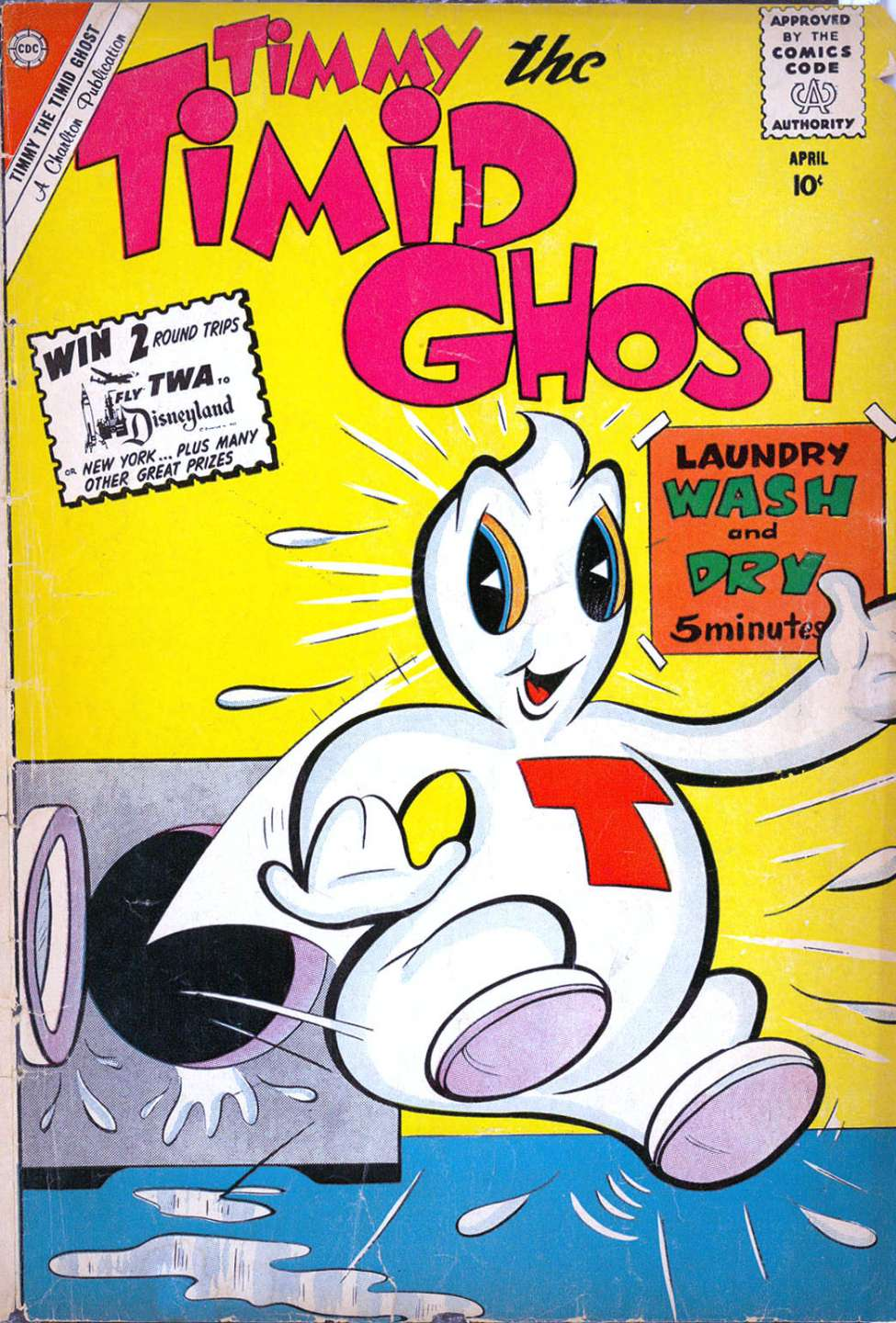 Comic Book Cover For Timmy the Timid Ghost #20