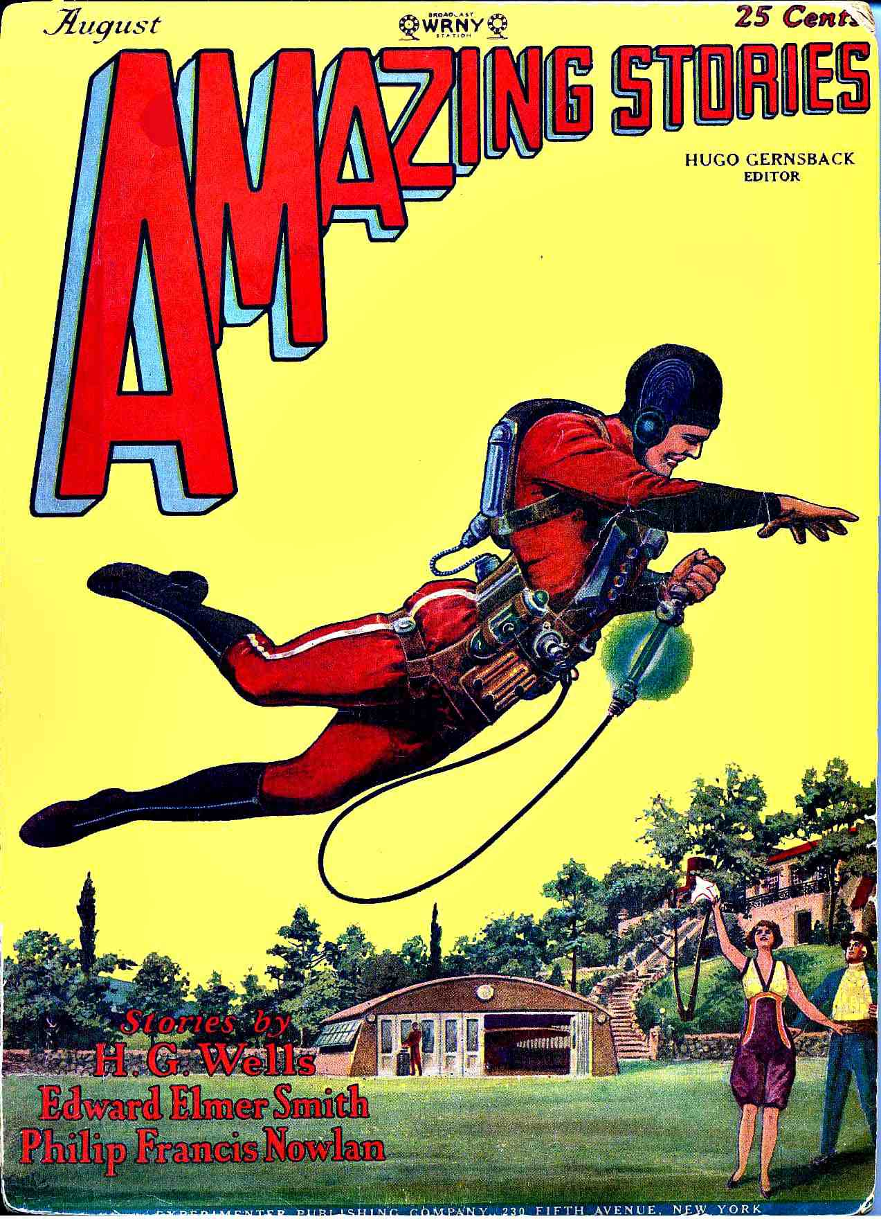 Amazing Stories Volume 21 Number 06: First 2 Buck Rogers Stories