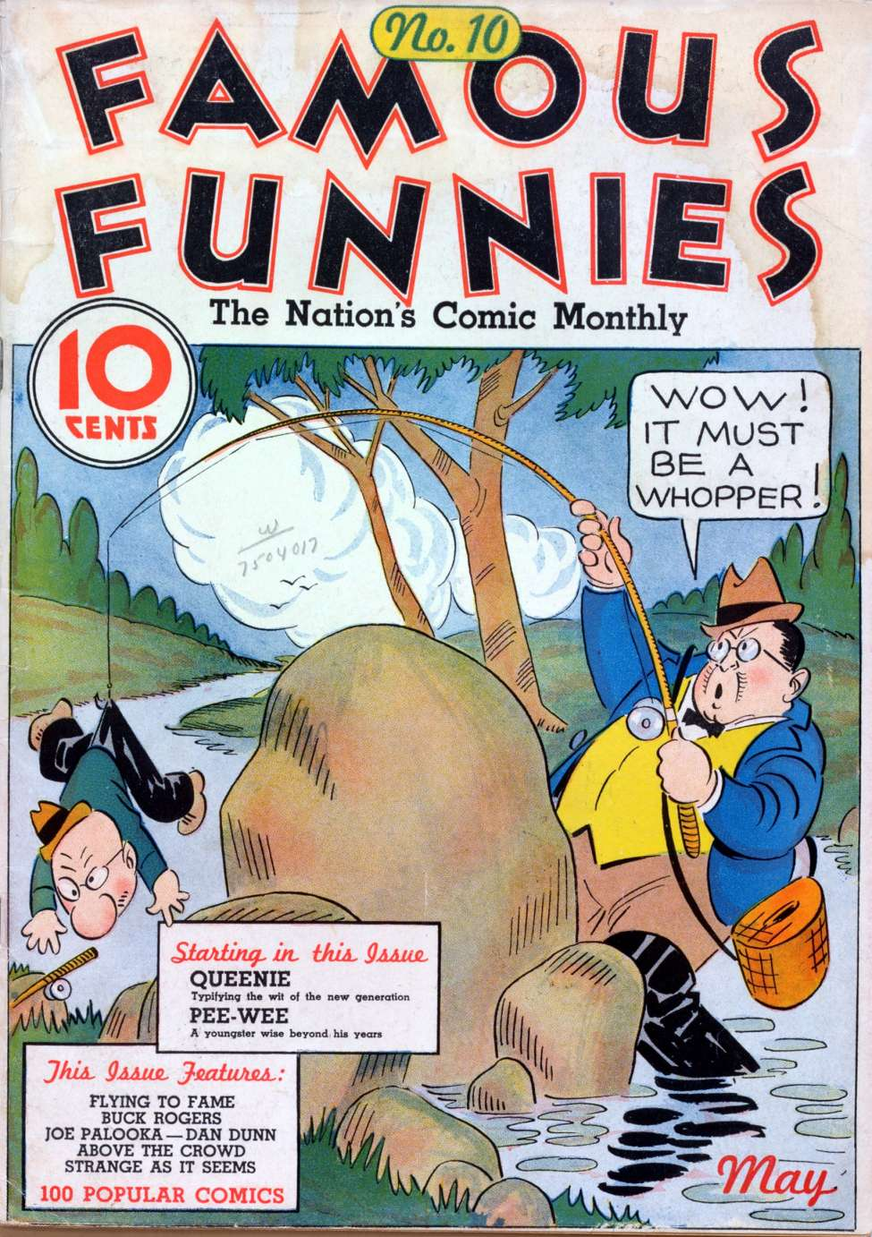 Comic Book Cover For Famous Funnies #10
