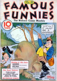 Large Thumbnail For Famous Funnies #10