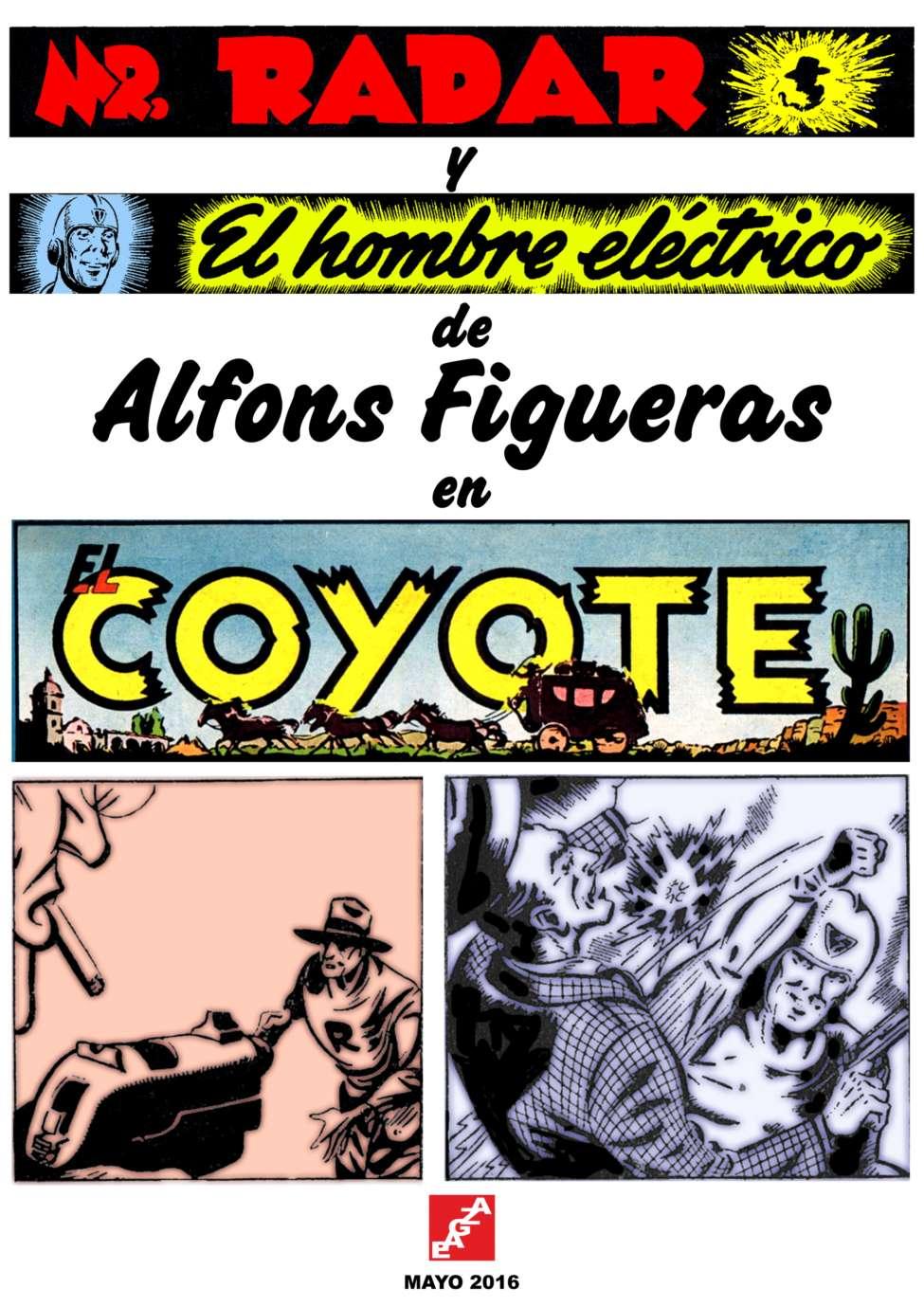 Comic Book Cover For Mr. Radar y El Hombre Electrico