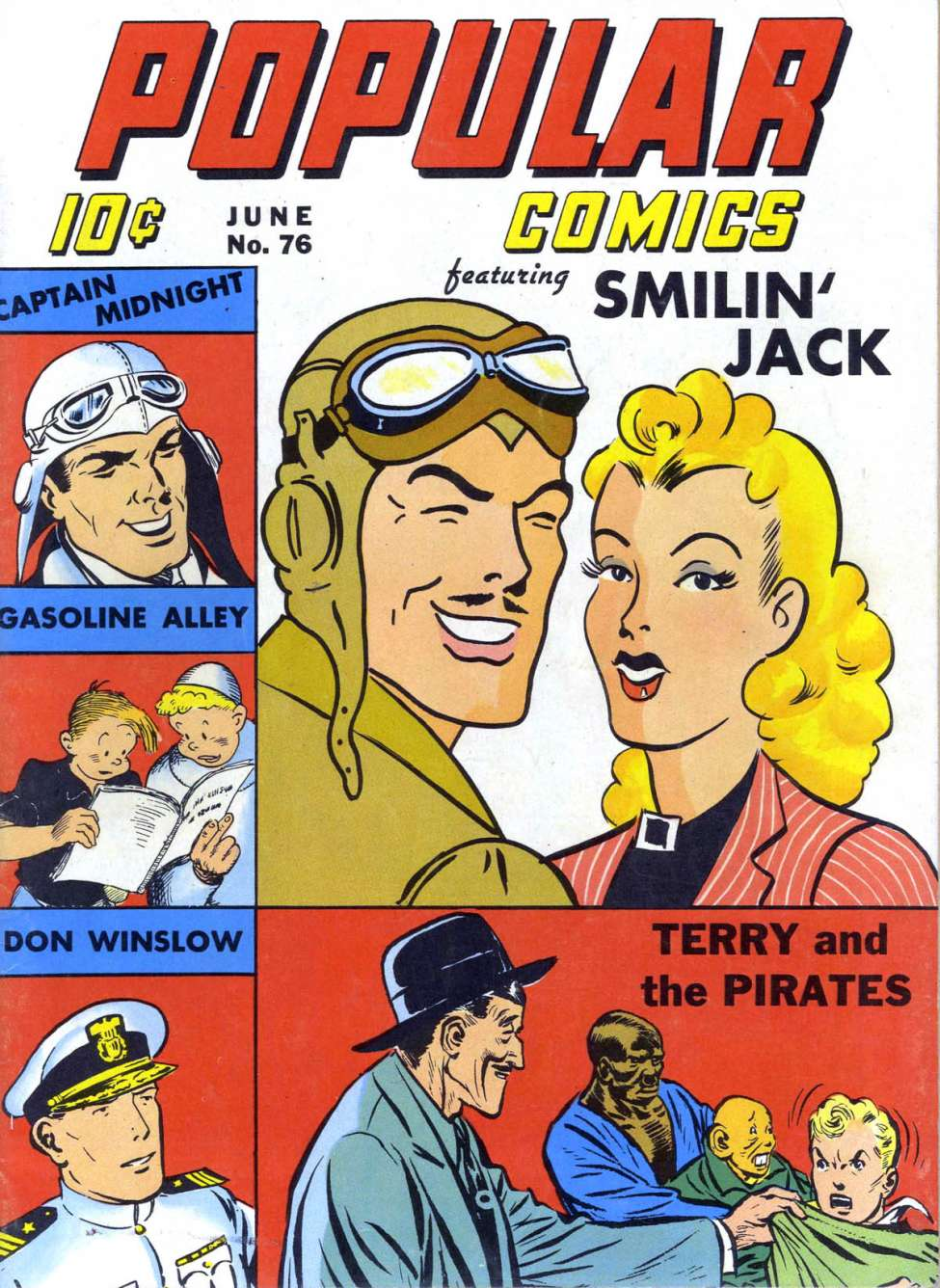 Comic Book Cover For Popular Comics #76