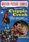Cover For Motion Picture Comics 114 Cripple Creek