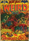 Cover For Blue Bolt Weird Tales of Terror 119
